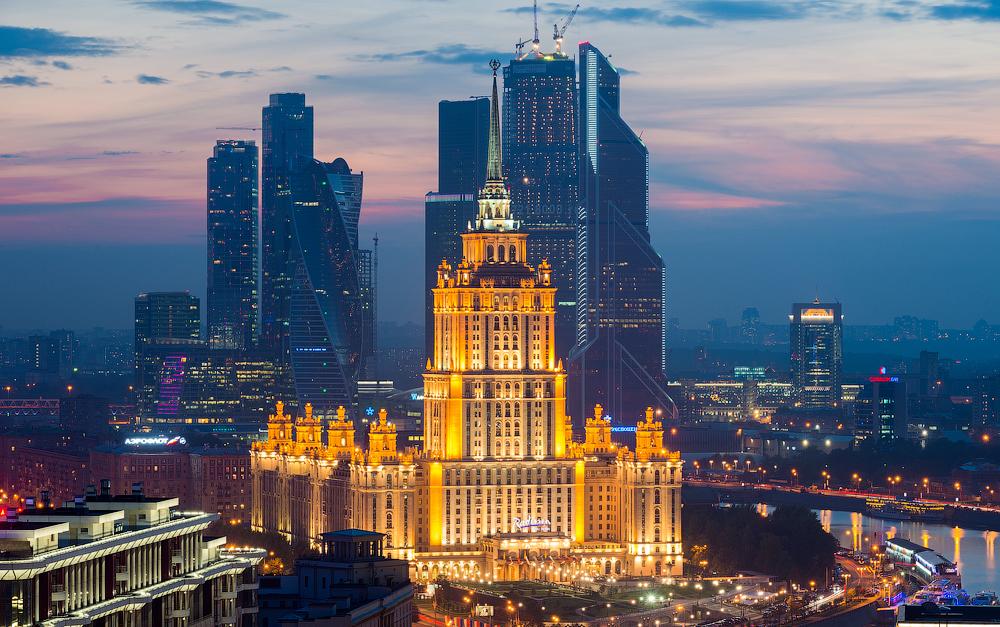 Чёрная Пятница в Москве