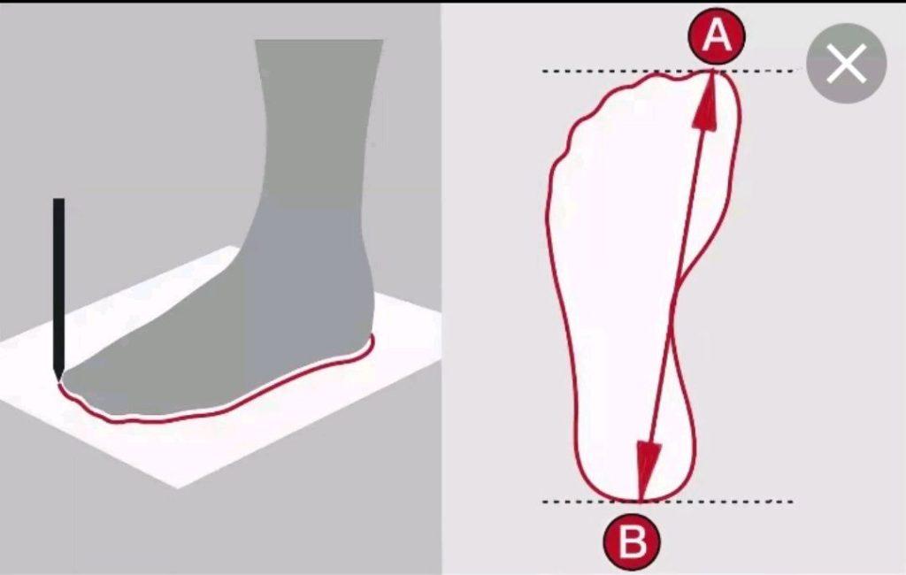 Как измерить ногу и выбрать размер обуви на Алиэкспресс
